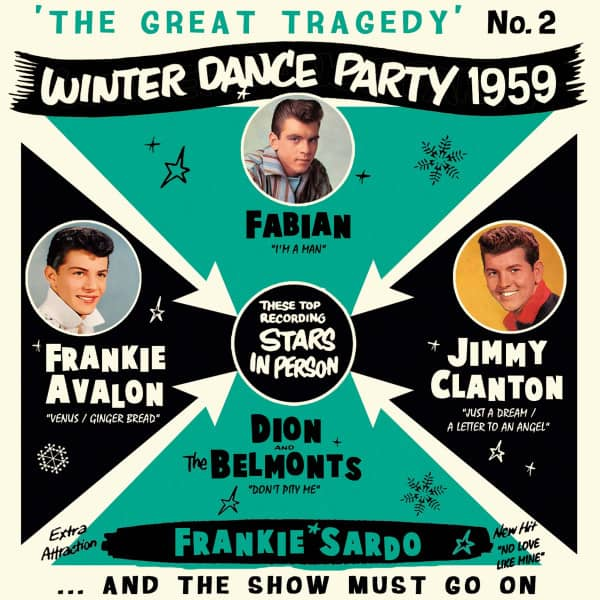 The Great Tragedy - Winter Dance Party 1959 - No. 2 (CD)