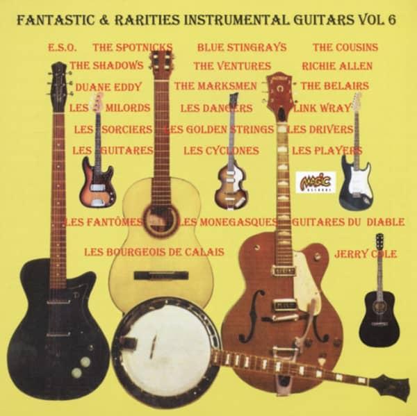 Vol.6, Fantastic & Rarities 50's & 60's Instr