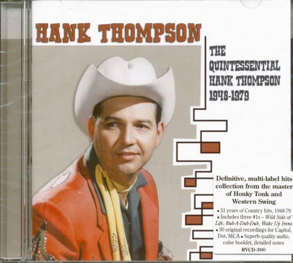 The Quintessential Hank Thompson 1948-79 (CD)