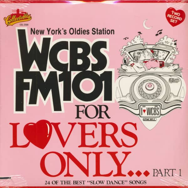 WCBS FM101 New York - For Lovers Only Vol.1 (2-LP, Cut-Out)