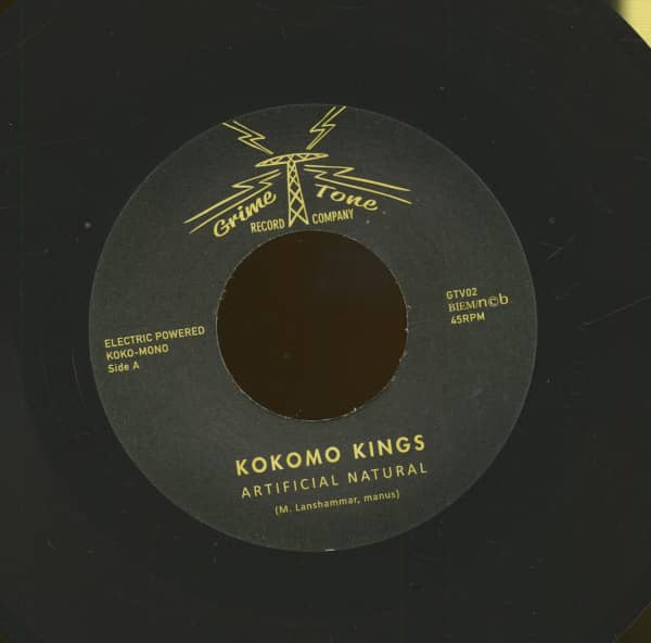 Artificial Natural - I Know Where To Go (7inch, 45rpm)