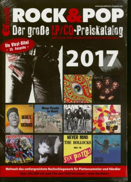 2017 Rock & Pop (inkl. DVD)
