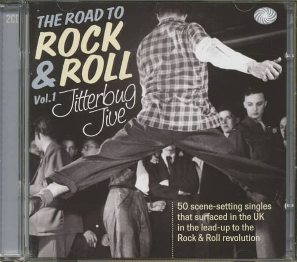 The Road To Rock'n'Roll Vol.1 - Jitterbug Jive (2-CD)