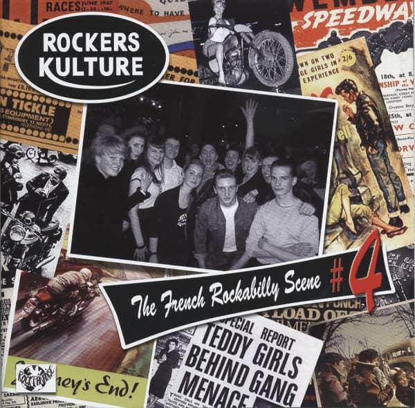Vol.4, Rockers Culture - French Rockabilly