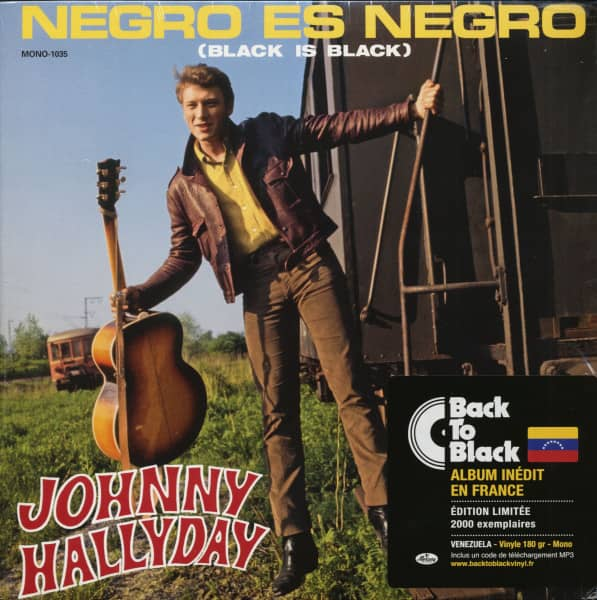 Negro Es Negro (Black Is Black) (LP & Download, 180g Vinyl, Ltd.)
