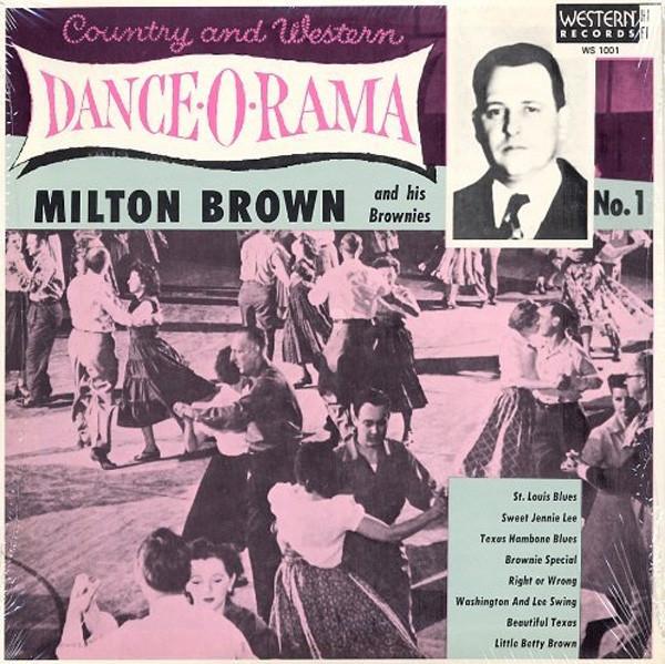 Country & Western Dance-O-Rama 10 inch-LP