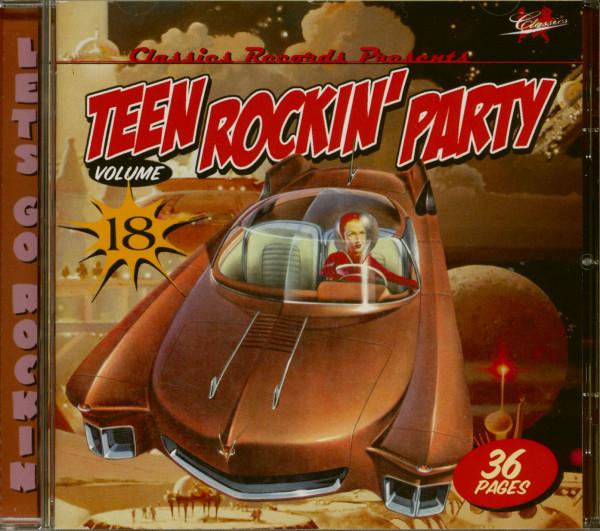 Teen Rockin' Party Vol.18 (CD)