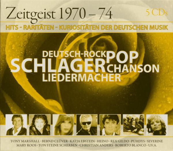 Zeitgeist 1970-74 (5-CD)