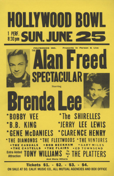 Hollywood Bowl - Alan Freed Spectacular 1961