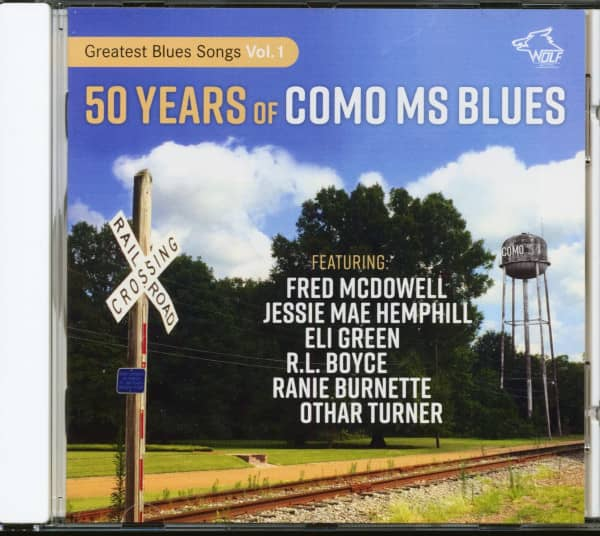 50 Years Of Como MS Blues (CD)