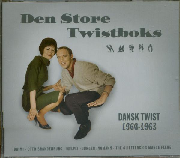 Den Store Twistboks - Dansk Twist 1960 - 1963 (4-CD)