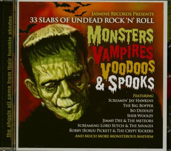 Monsters Vampires Voodoos & Spooks (CD)