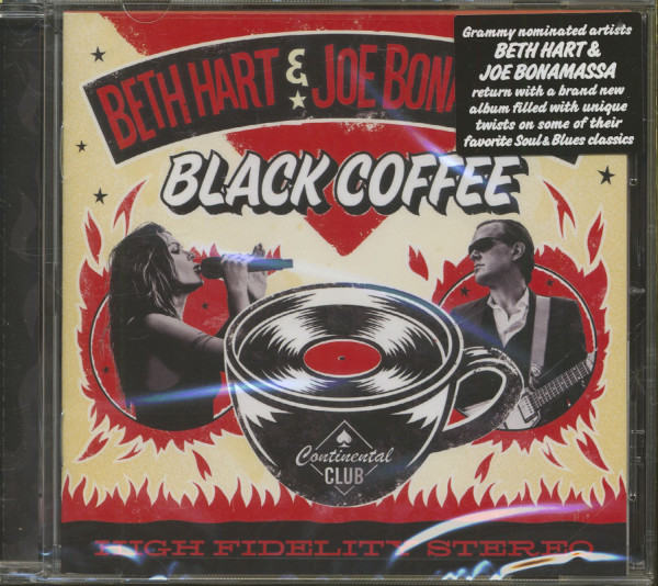 Beth Hart & Joe Bonamassa - Black Coffee (CD)