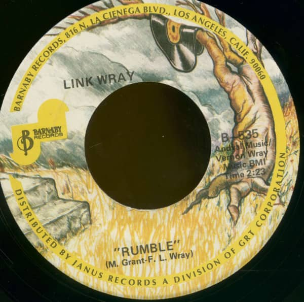 Rumble - The Swag (7inch, 45rpm, BC)