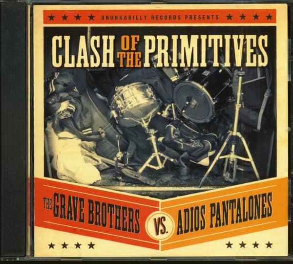 The Grave Brothers Vs. Adios Pantalones (CD)