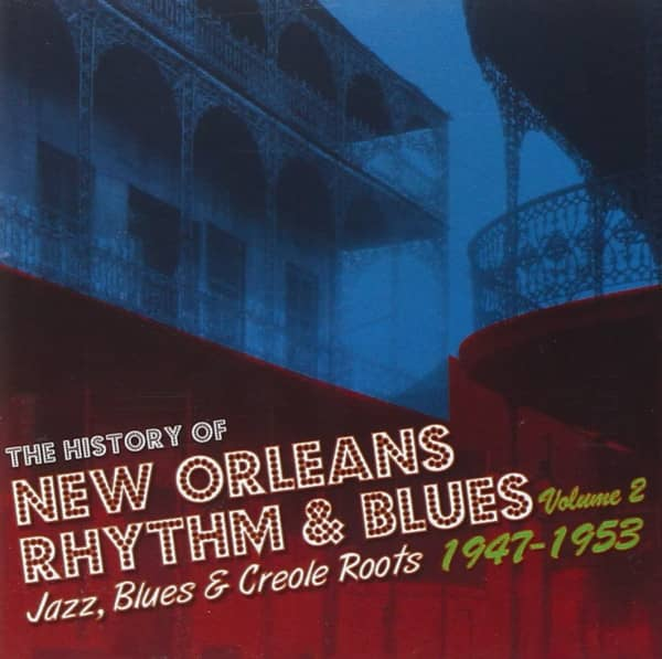 History Of New Orleans Vol.2 1947-1953 (2-CD)