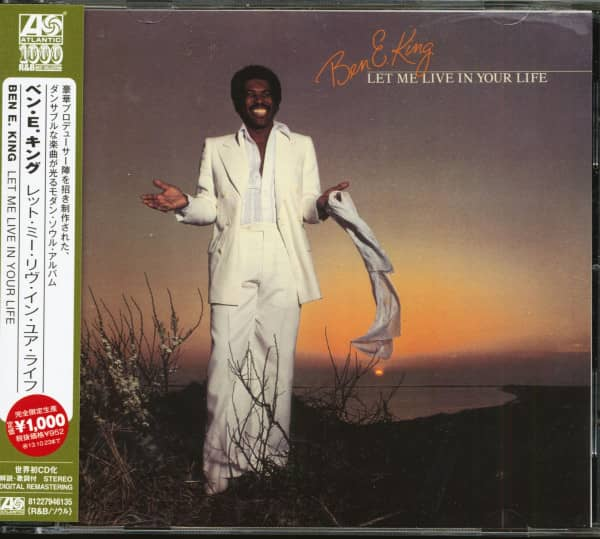 Let Me Live In Your Life (CD, Japan)