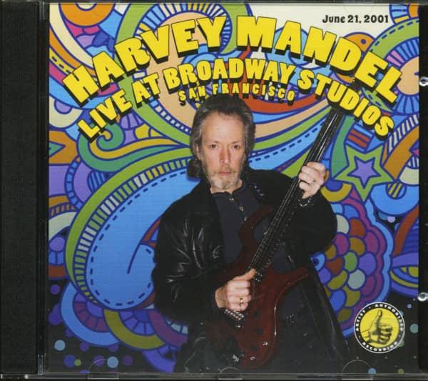 Live At Broadway Studios (CD)