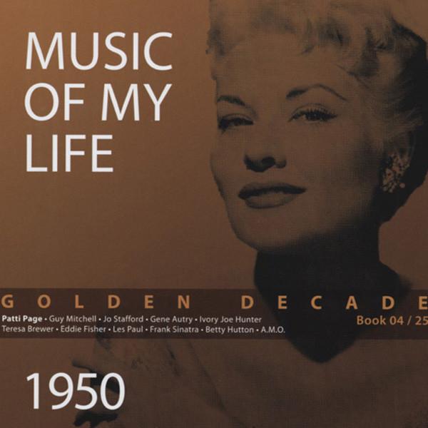 1950 Golden Decade (Book & 4-CD) #4-25