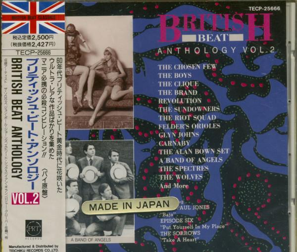 British Beat Anthology Vol.2 (CD, Japan)