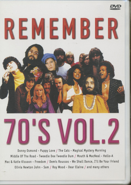 Remember The 70's, Vol.2 (DVD)