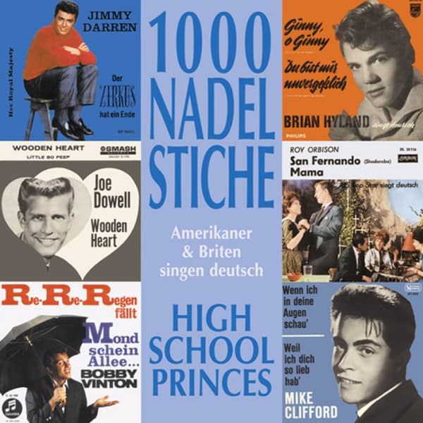 Vol.04, High School Princes - Amerikaner & Briten singen deutsch (CD)