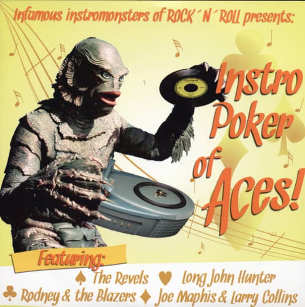 Instro Poker of Aces 7inch, 45rpm, PS