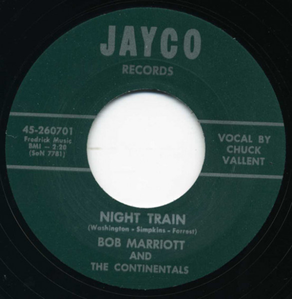 Night Train - I'll Walk A Mile 7inch, 45rpm