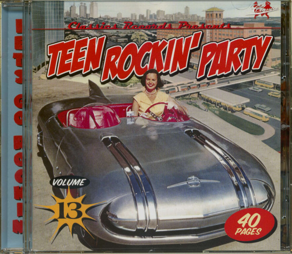 Teen Rockin' Party Vol.13 (CD)