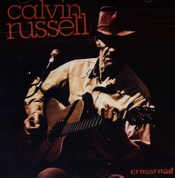 Calvin Russell CD  Crossroad - Bear Family Records f9fc84f04ae