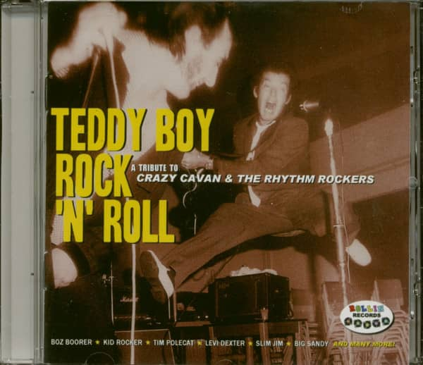 Teddy Boy Rock & Roll - Crazy Cavan 40thTribu (CD)