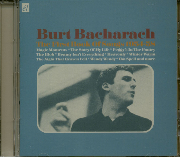 Burt Bacharach - The First Book Of Songs 1954-58 (CD)