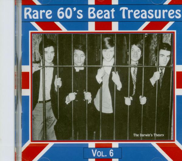 Rare 60's Beat Treasures Vol.6 (CD)
