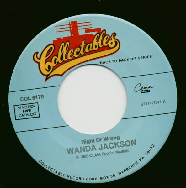 Right Or Wrong - In The Middle Of A Heartache (7inch, 45rpm)