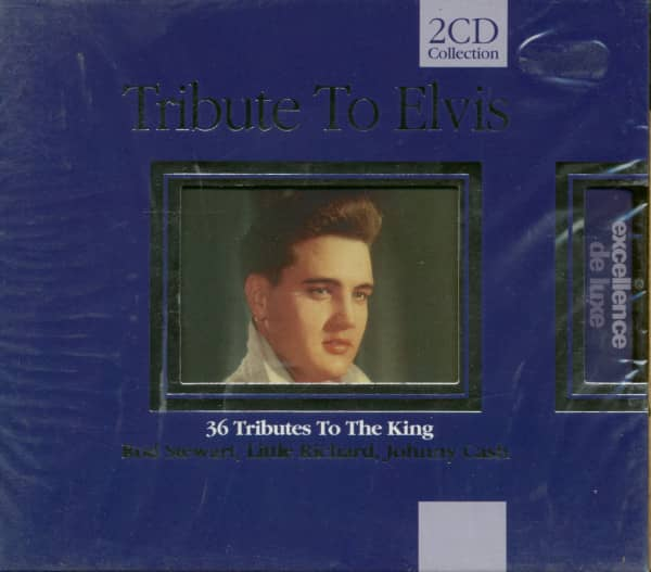 Tribute To Elvis - 36 Tributes To The King (2-CD)