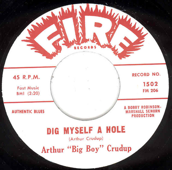 Dig Myself A Hole - Mean Ole Frisco 7inch, 45rpm