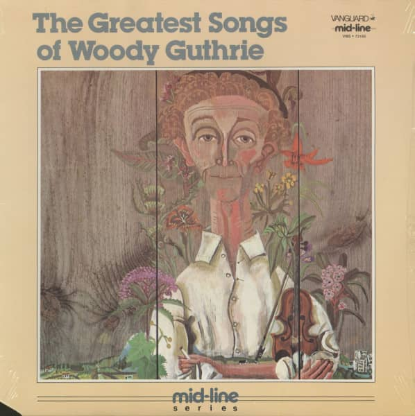 The Greatest Songs Of Woody Guthrie (LP, Cut-Out)