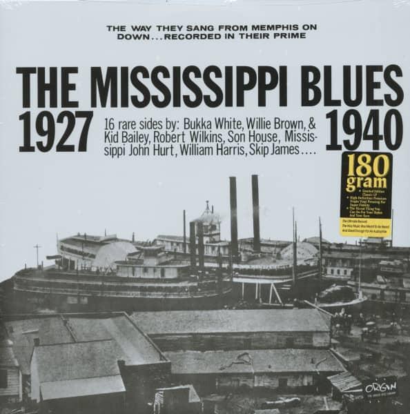 The Mississippi Blues 1927-1940 (LP, 180g Vinyl)