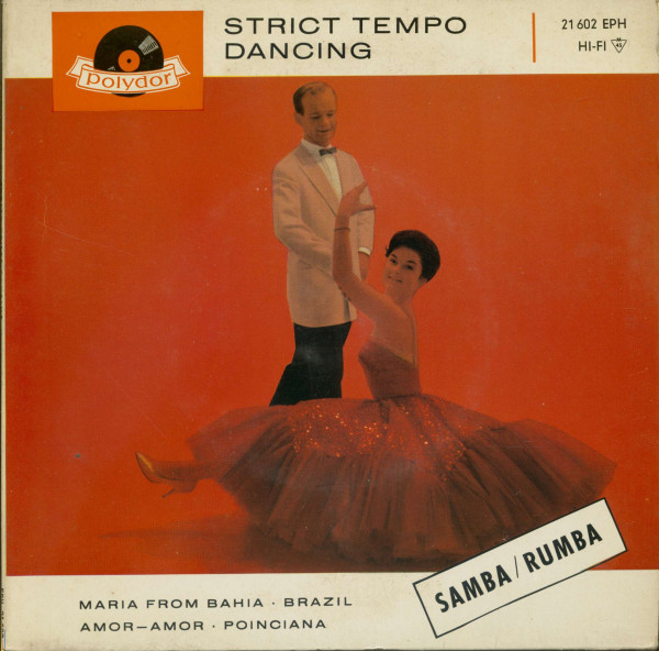 Strict Tempo Dancing - Samba & Rumba (7inch, 45rpm, EP, PS)