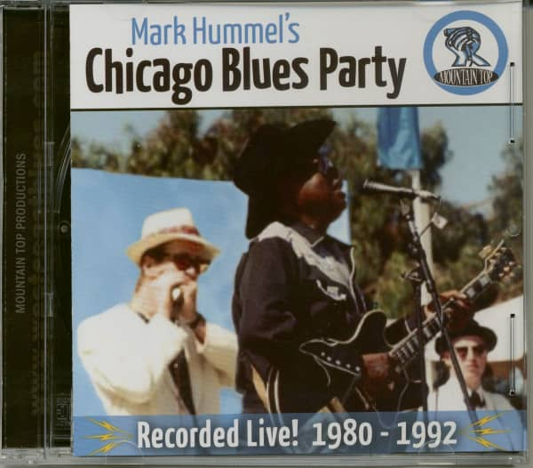 Mark Hummel's Chicago Blues Party (CD)