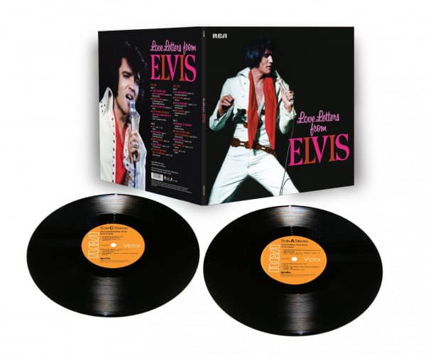 Love Letters From Elvis (2-LP, Limited Edition)