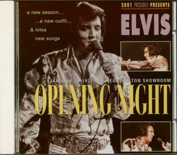 Opening Night Jan.26, 1972 (CD)