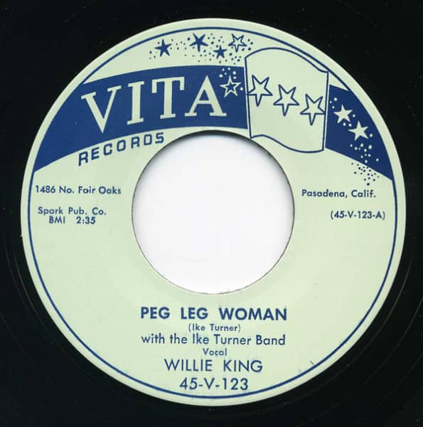Peg Leg Woman - Mistreating Woman 7inch, 45rpm