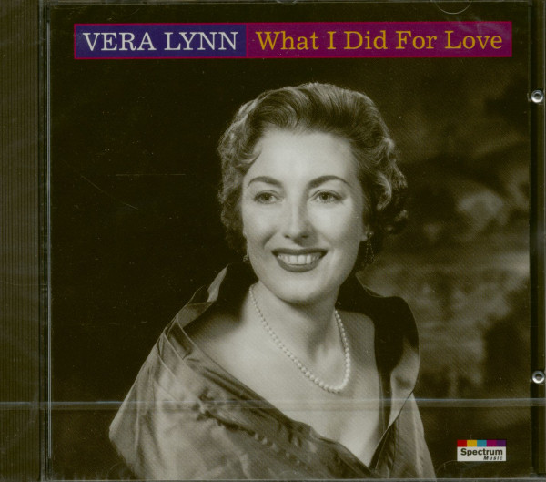 What I Did For Love (CD)