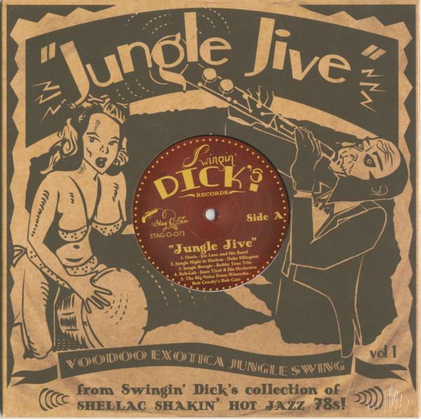 Jungle Jive - Voodoo Exotica Jungle Swing Vol.1 (LP, 10inch)