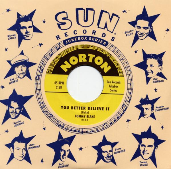 Sun Records 7inch, 45rpm Series