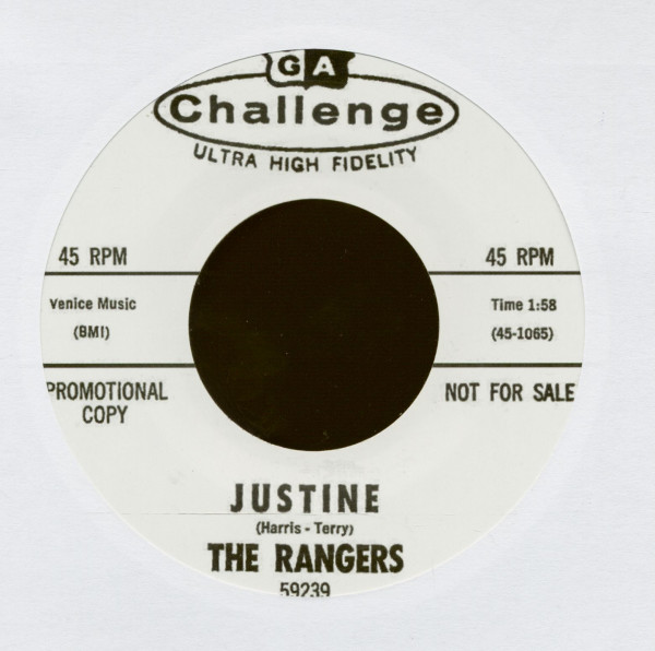 Justine - Reputation (7inch, 45rpm)