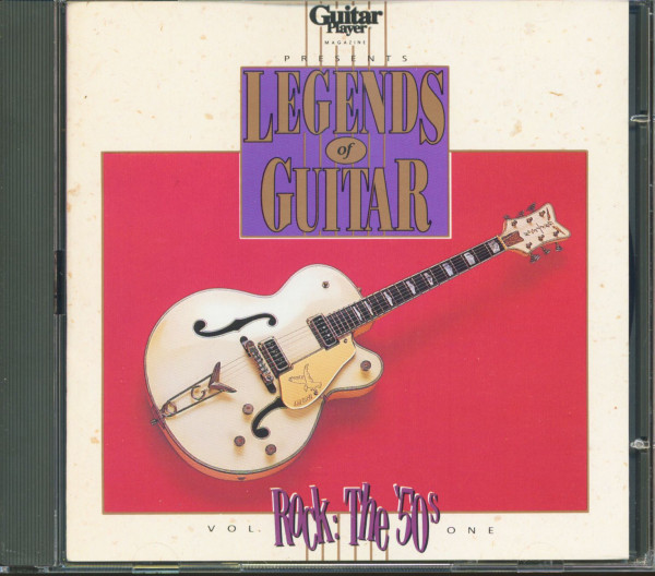 Guitar Player Presents: Legends Of Rock Guitar, Vol.1 - The 50s (CD)