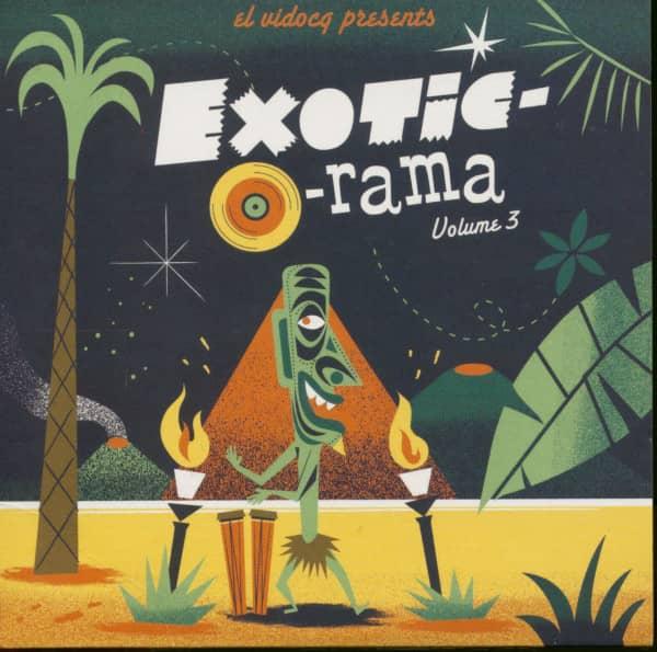 Exotic-O-Rama Vol.3 (LP & CD)
