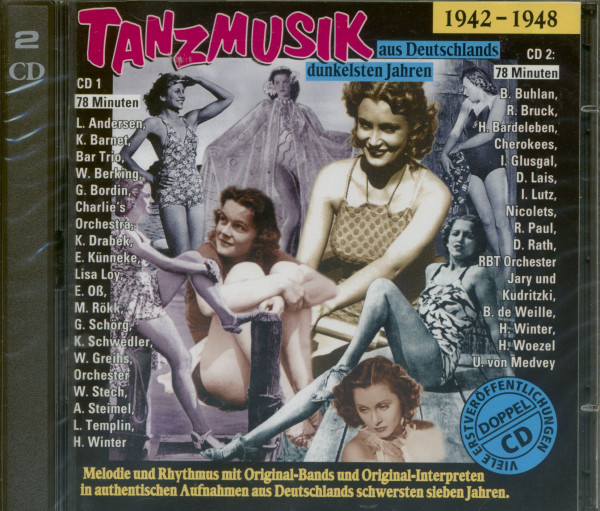 Tanzmusik aus Deutschlands dunkelsten Jahren (2-CD)